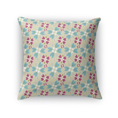 Jamaica Way Garden Party Throw Pillow Size: 24 x 24