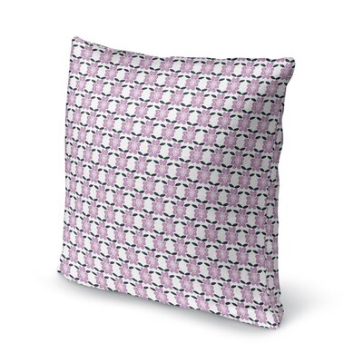 Topeka Face Forward Boho Flower Throw Pillow Size: 24 x 24