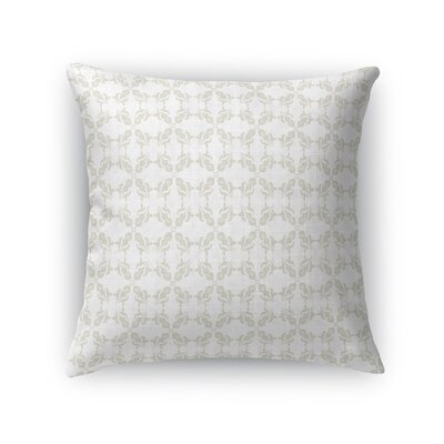 Warne Soft Repeat Throw Pillow Size: 24 x 24