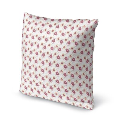 Loizzo Doily Floral Throw Pillow Size: 24 x 24