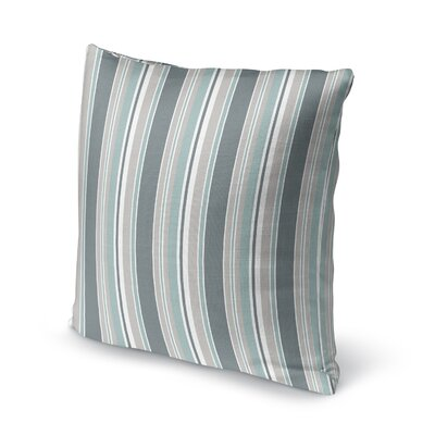 Caseareo Stripe Throw Pillow Size: 16