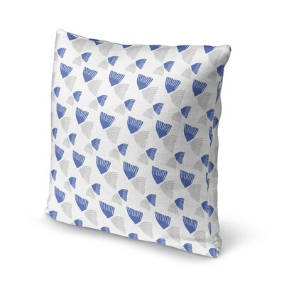 Mcanulty Throw Pillow Color: Blue, Size: 24 x 24