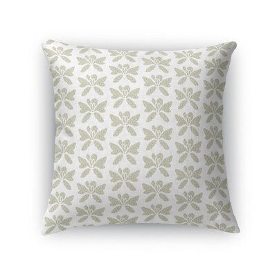 Wardle Golden Blossom Throw Pillow Size: 18 x 18