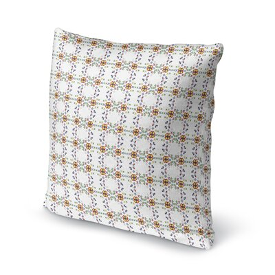 Mosca Country Floral Throw Pillow Size: 18 x 18