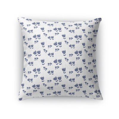 Warnke Tulip Fields Forever Throw Pillow Size: 16 x 16
