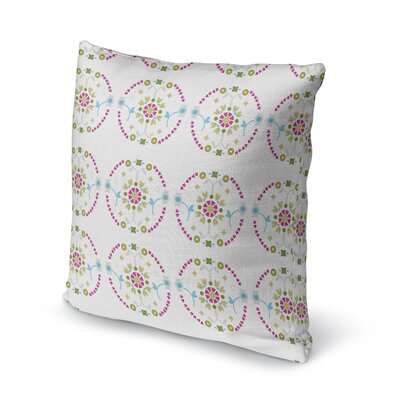 Bradgate Medallion Throw Pillow Size: 16 x 16