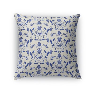Wardlow Hidden Garden Throw Pillow Size: 18 x 18