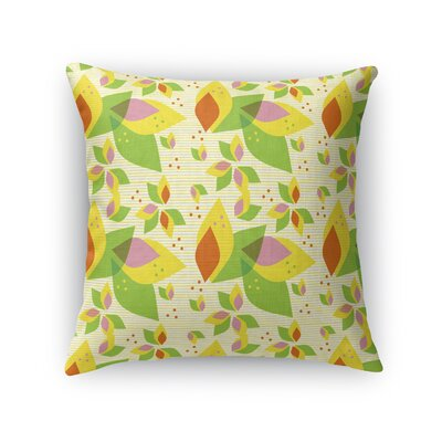 Pezdicek Party Time Tropical Throw Pillow Size: 16 x 16