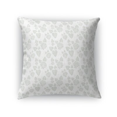 Warford Lilypad Flower Throw Pillow Size: 24 x 24