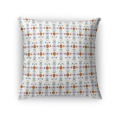 Warpup Rows of Sunshine Throw Pillow Size: 18 x 18