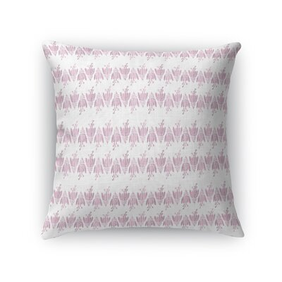 Fofana Flower Throw Pillow Size: 18 x 18
