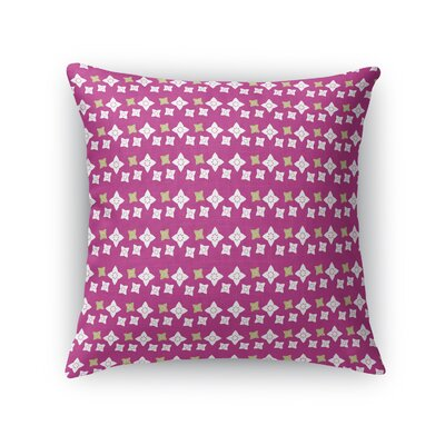 Jantzen Secret Garden Throw Pillow Size: 18 x 18