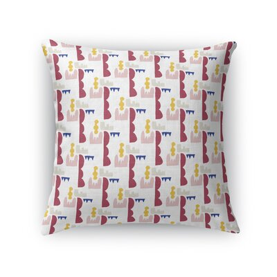 Swinburn Shapely Throw Pillow Size: 18 x 18
