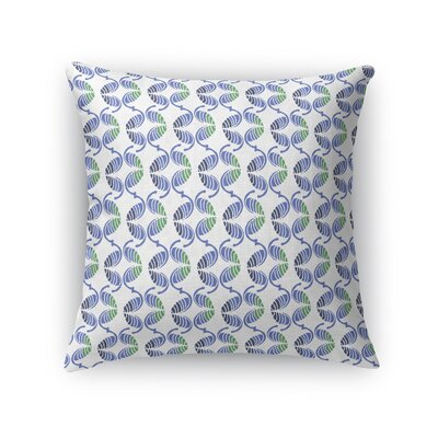 Debellis Round and Round Abstract Throw Pillow Size: 16 x 16