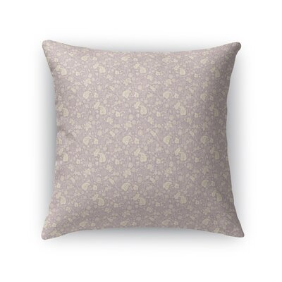 Warnick Spring Fields Throw Pillow Color: Purple, Size: 18 x 18