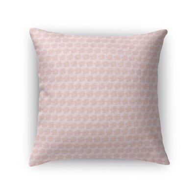 Crooker Flower Throw Pillow Size: 18 x 18
