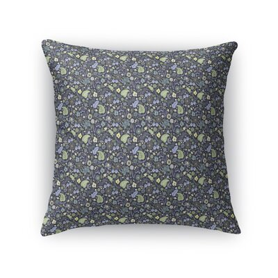 Warnick Spring Fields Throw Pillow Color: Green, Size: 16 x 16