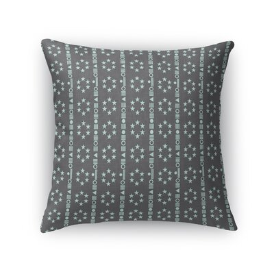 Custodio Stripes Throw Pillow Size: 16 x 16
