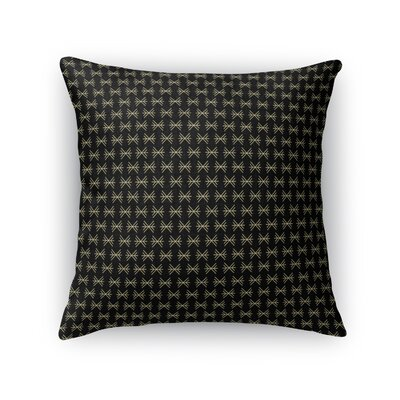 Deavers Luxury Pattern Throw Pillow Size: 24 x 24