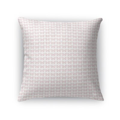 Wardlaw Feminine Wings Throw Pillow Size: 18 x 18