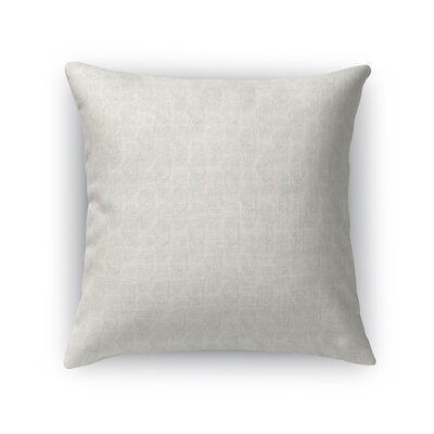 Deakins Anniversary Tree Rings Throw Pillow Color: Light Blue, Size: 18 x 18