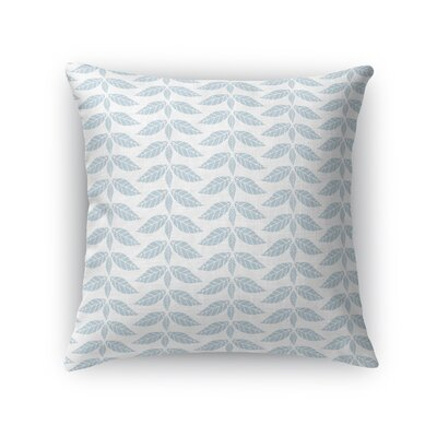 Warfield Leaves Throw Pillow Size: 16 x 16