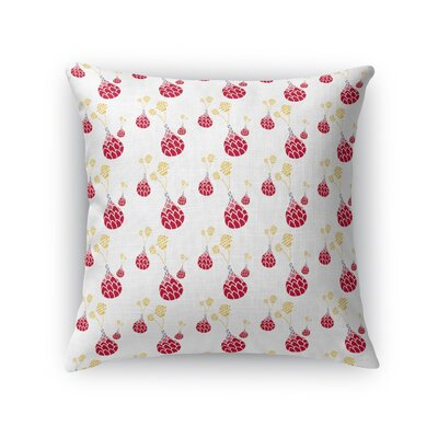 Wuersch Vase and Flowers Throw Pillow Size: 24 x 24