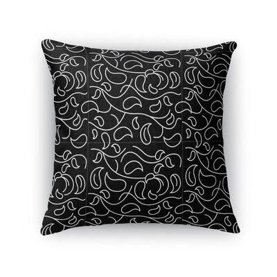 Lofties Vines Throw Pillow Size: 18 x 18