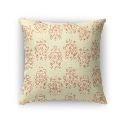 Warmley Queen of Flowers Throw Pillow Size: 24 x 24