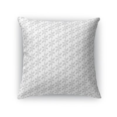 Warriner Wreath Throw Pillow Size: 18 x 18