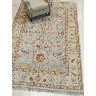 One-of-a-Kind Careen Hand-Knotted Wool Ivory Area Rug