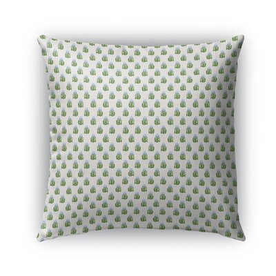 Kewale House Plants Pattern Indoor/Outdoor Throw Pillow Size: 18 x 18