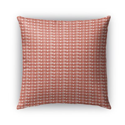Cronly Plant Based Pattern Indoor/Outdoor Throw Pillow Size: 26 x 26