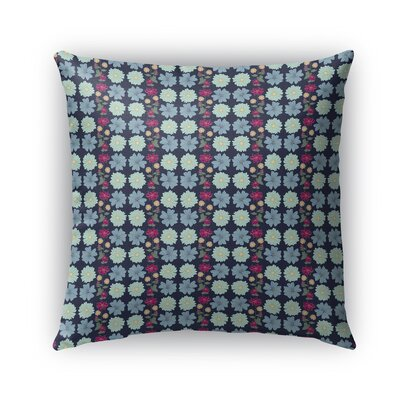 Hero Bloom Pattern Indoor/Outdoor Throw Pillow Size: 18 x 18