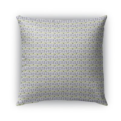 Custis Flowers Pattern Indoor/Outdoor Throw Pillow Size: 26 x 26
