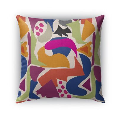 Mcanulty Indoor/Outdoor Throw Pillow Size: 16