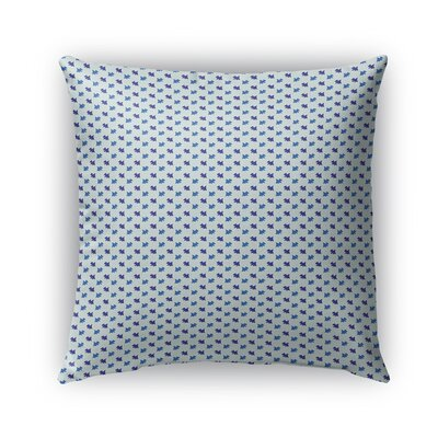 Cutrer Pattern Indoor/Outdoor Throw Pillow Size: 16 x 16