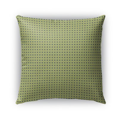 Burbach Heart Pattern Indoor/Outdoor Throw Pillow Size: 18 x 18