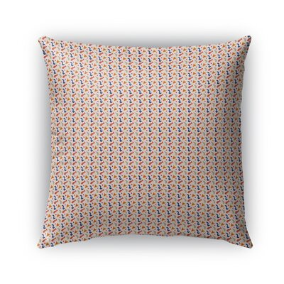 Subedi Pattern Indoor/Outdoor Throw Pillow Size: 18 x 18