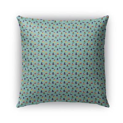 Lords Cool Girl Pattern Indoor/Outdoor Throw Pillow Size: 16 x 16
