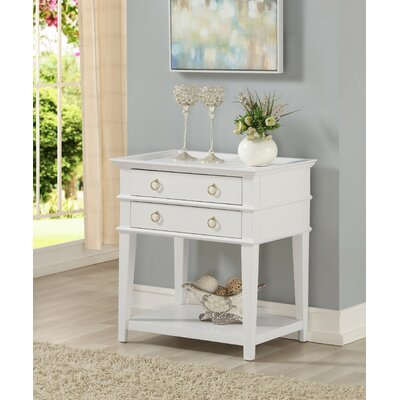 Neufeld 2 Drawer Nightstand