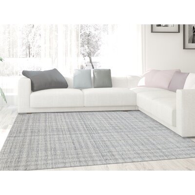 Mazzarella Hand-Tufted Wool Ivory Area Rug Rug Size: Rectangle 2 x 3