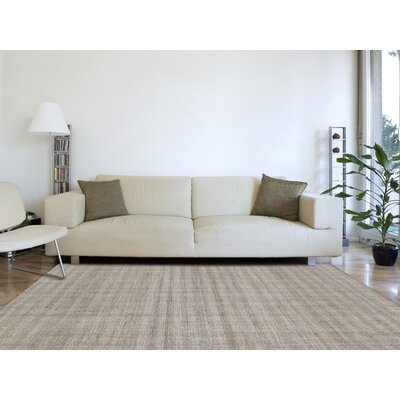 Mazzarella Hand-Tufted Wool Camel Area Rug Rug Size: Rectangle 76 x 96