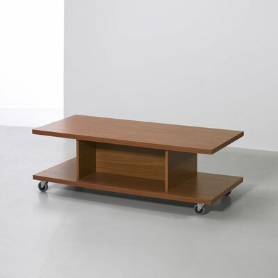 """18"""" Tv Stand Cart Color: Cherry"""