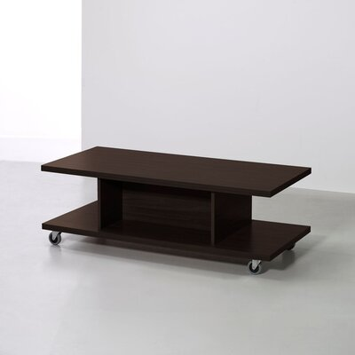 """18"""" Tv Stand Cart Color: Coffee"""