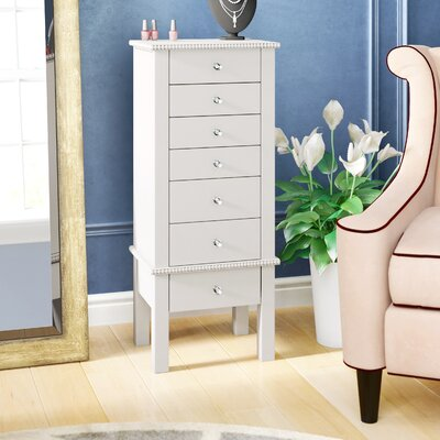 Brooklyn Jewelry Armoire Color: Crisp White