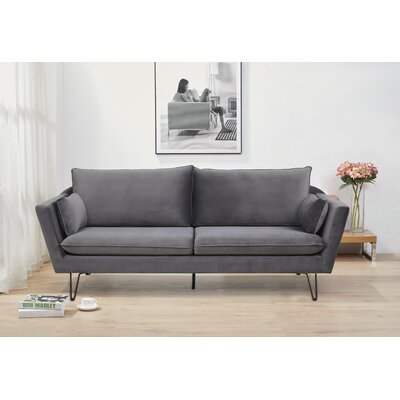 Fagin Sofa Upholstery: Gray