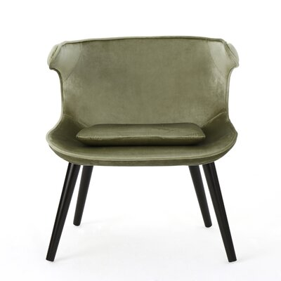 Disanto Barrel Chair Upholstery: Pistachio