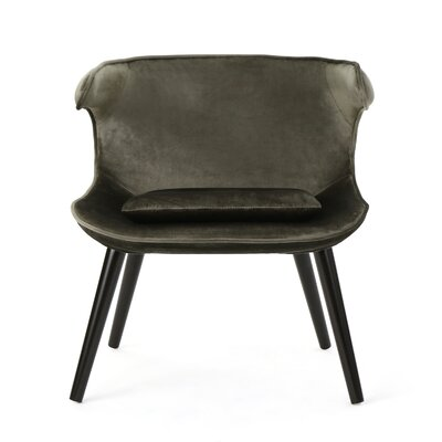 Disanto Barrel Chair Upholstery: Gray