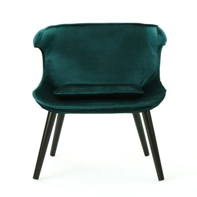 Disanto Barrel Chair Upholstery: Teal